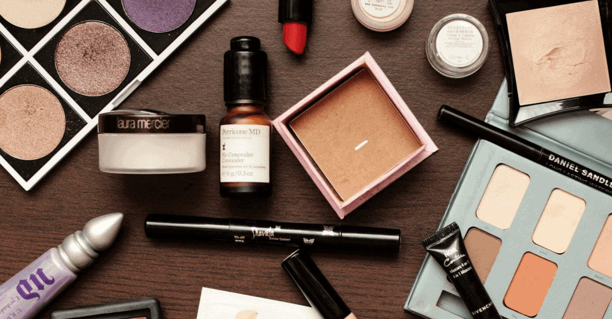 cosmetics and makeup