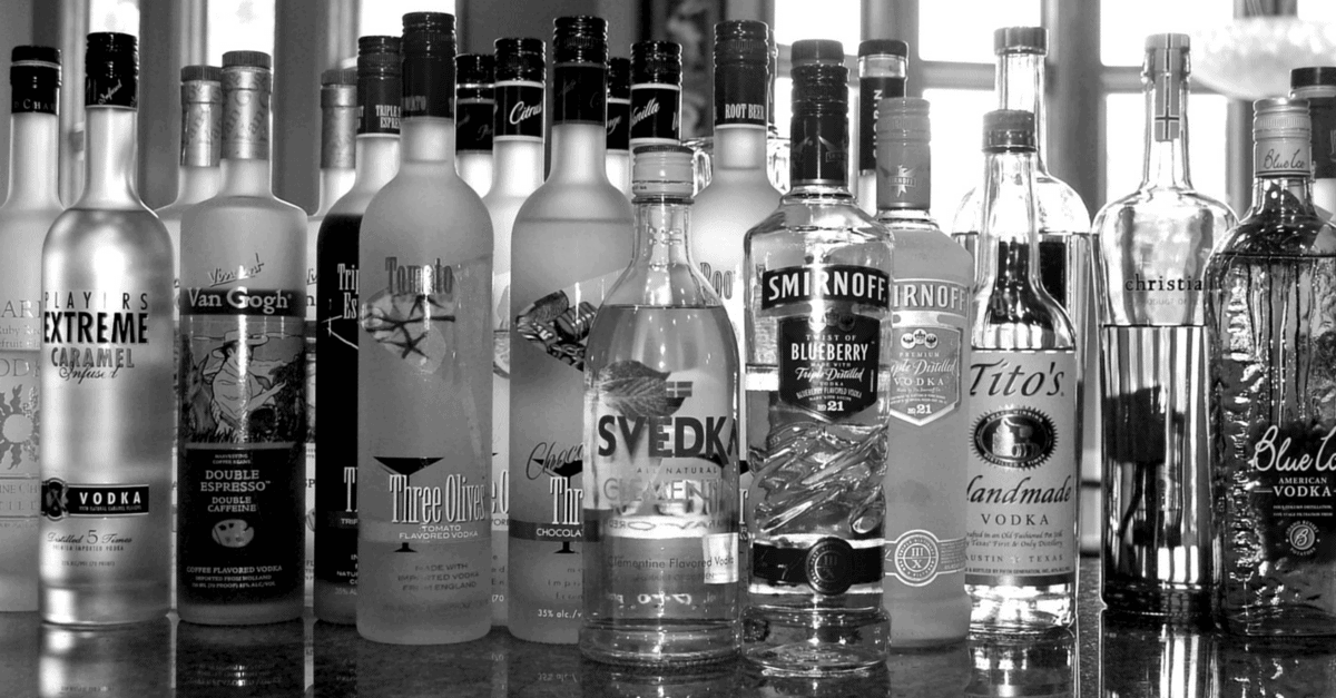 Gluten Free Vodka List Updated 2018