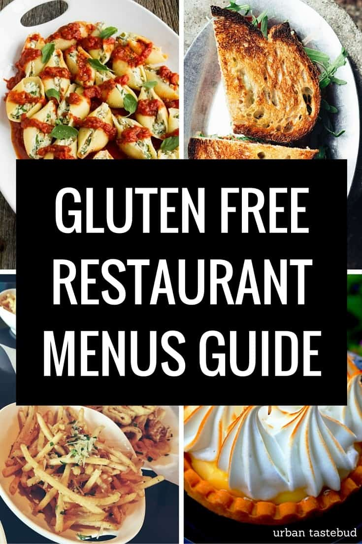 What Restaurants Have A Gluten Free Menu