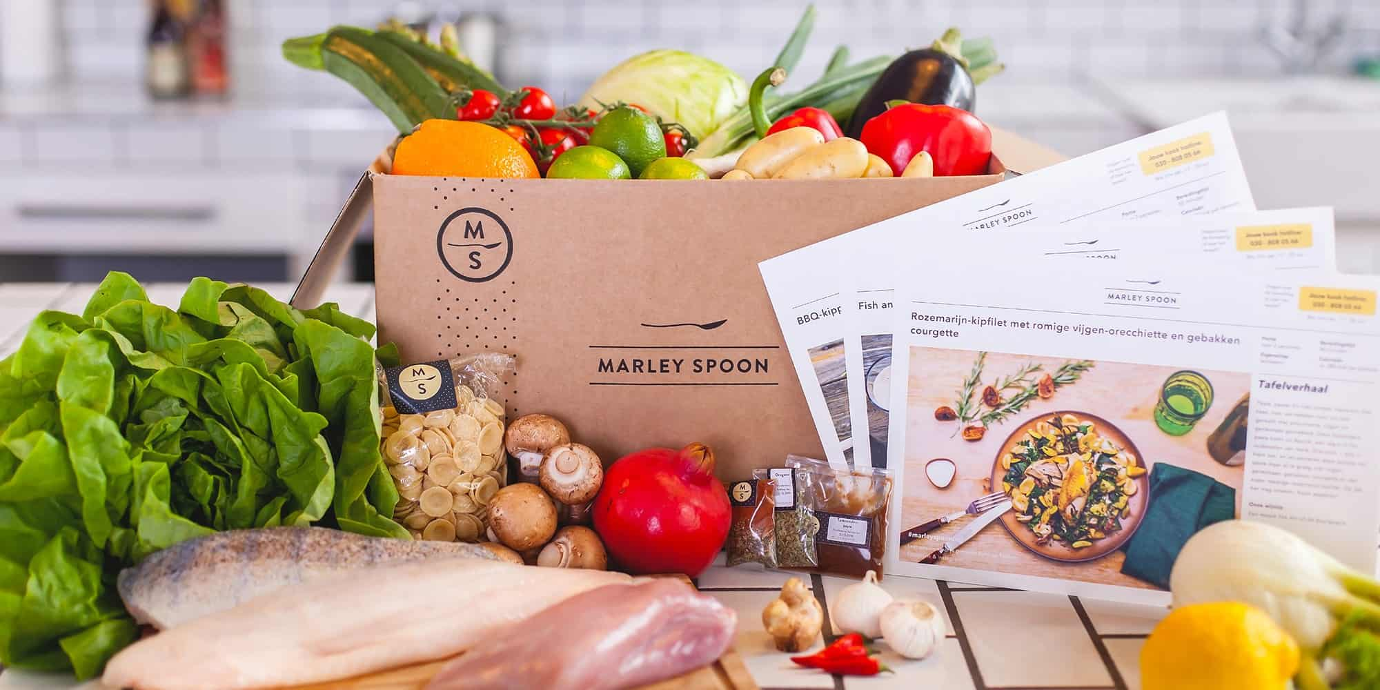 Marley Spoon Full Meal Subscription Box
