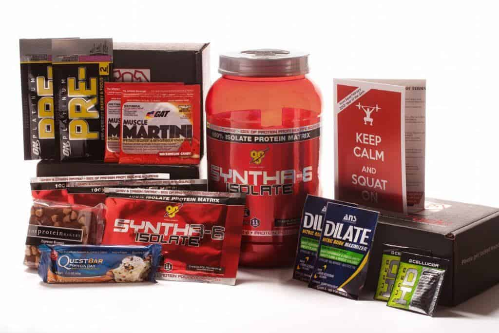 JackedPack Weightlifting Monthly Box