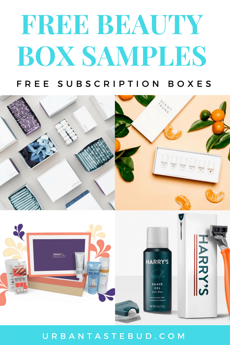 Best Free Beauty Box Samples