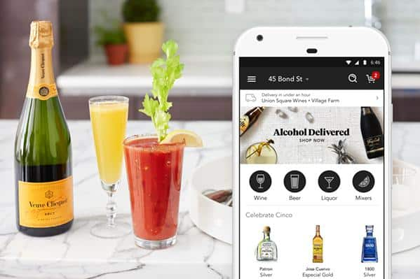 Minibar On-Deman Alcohol Delivery App