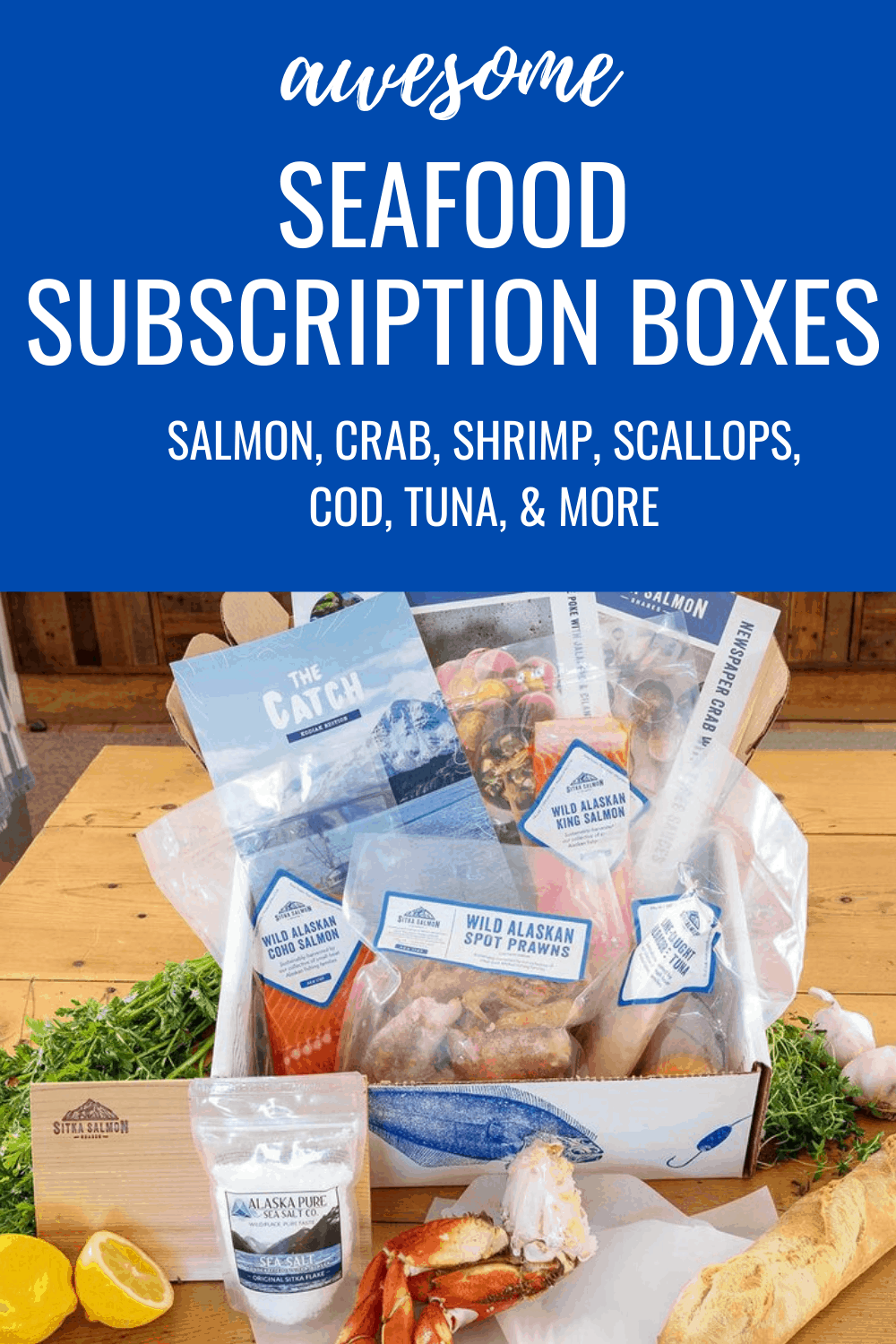 Best Seafood Subscription Boxes
